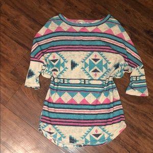 Tribal design tunic